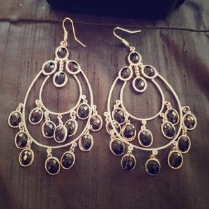 Ladies Moroccans style large earrings